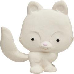 Witte Lanco Toys Lanco - Rubberen bijtspeeltje vos