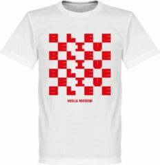 Retake Kroatië Believe T-Shirt - Wit - L