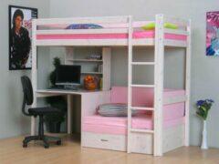 Roze Thuka Prinses - Hoogslaper - 98x208 cm - Wit