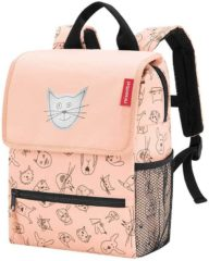 Reisenthel Backpack Kids Rugzak - Polyester - 5L - Cats&Dogs Rose Roze