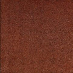 Gardenlux 3 stuks! Rubbertegel rood 50x50x2.5 cm