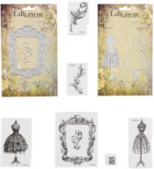 """LaBlanche Home-Dekoration Stempel & Schablonen """"Büsten"""", 14tlg."""