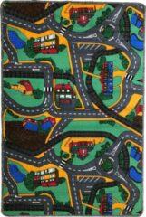 Dywanik Speelkleed - Verkeerskleed - speeltapijt - Stratentapijt - Smart City 100 x 150 cm - Design 10