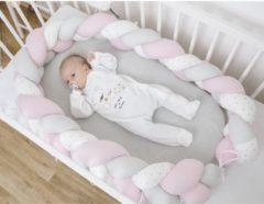 Babynest Bubaba Braid - Pink - Roze