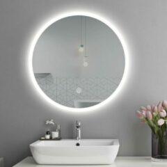 DimuluX Dumulux Delphi LED badkamer spiegel verwarmd 800 mm rond