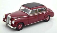 Mercedes-Benz 300 (W186) 1955 Donkerrood 1-18 Norev