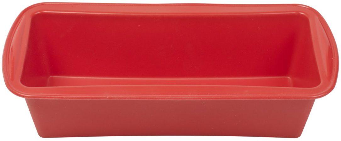 Afbeelding van Rode Dr. Oetker Cakevorm siliconen - 8 cm x 24 cm