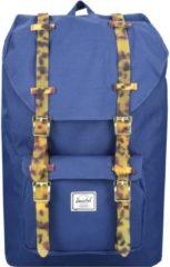 Little America Mid Volume Backpack Rucksack 38 cm Laptopfach Herschel twilight blue-tortoise shell rubber