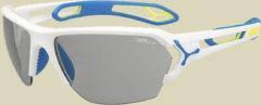 Cebe Europe S´Track L Sportbrille Größe one size matt white blue