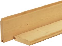 Woodvision Dakbeschot NE Vuren   16 x 95mm   420cm   Geimpregneerd