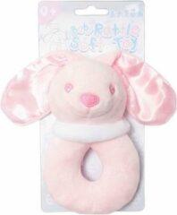 Softtouch Soft Touch Rammelaar Konijn Meisjes 14 Cm Polyester Roze