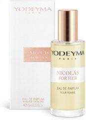 Yodeyma Nicolas For Her 15 ml gratis verzending