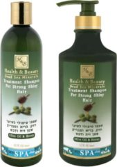 H&B Dead Sea Minerals Olive & Honey Shampoo - Parabeenfree - 400 ml
