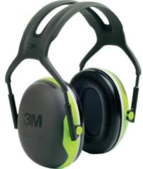 Gele Merkloos / Sans marque 3M Peltor X4 - gehoorbeschermer - SNR 33 dB - zwart met neon groen