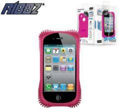 Roze Iphone 4 Ribbz Pink - Telefoonhoesje