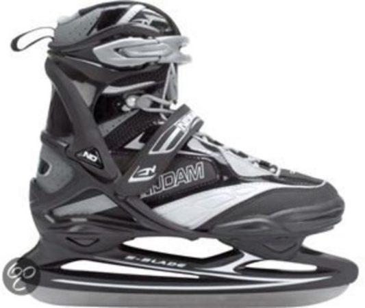 Afbeelding van Grijze Nijdam 0108 Pro Line IJshockeyschaats - Maat 38 - Schaatsen - Unisex