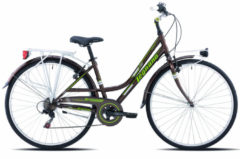 28 Zoll Legnano Versilia Damen Trekking Fahrrad... 48cm, braun-grün