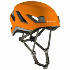 Skylotec - Viso - Klimhelm maat 55 - 61 cm, oranje/zwart/bruin