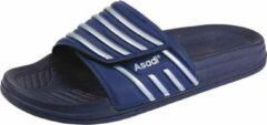Asadi | 6365 Badslipper PVC | Maat 42 | Blauw