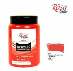 Rode Rosa Studio Acrylverf 400 ml 404 Light Red