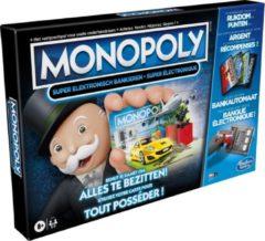 Zwarte Hasbro Gaming Monopoly Super Elektronisch Bankieren