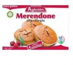 Agluten Merendone alla Ciliegia senza glutine 4 merendine