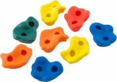 Hörby Bruk klimgrepen multicolor 8 stuks