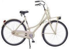 Creme witte Amigo Forest - Stadsfiets 28 inch - Transportfiets voor dames - Crème