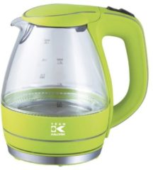 TEAM-KALORIK TEAM KALORIK Design Glas-Wasserkocher JK1022AG, 1,5 Liter, 2200 Watt