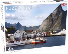 Tactic Puzzel Around the World Northern Stars: View of the Lofoten - 500 stukjes