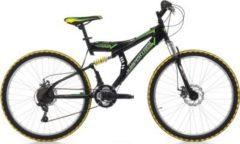 26 Zoll Cinzia Arrow Fully Mountainbike 21... schwarz