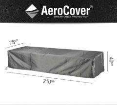 Antraciet-grijze AeroCover Ligbedhoes 210 x 75 x 40