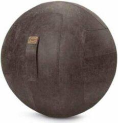 Antraciet-grijze Maison Woonstore Maison's Zitbal – Antraciet – 65 cm – Ergonomische zitbal – Kunstleer – Thuis of op kantoor – Frankie