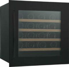 Zwarte Caviss SLEN132TBE4 -Inbouwwijnkoelkast - Nismaat 60 cm - 32 Flessen - 1 zone