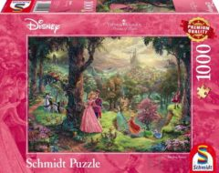 Schmidt Puzzle Schmidt Disney Princess - Sleeping Beauty/Doornroosje Puzzel - 1000 stukjes