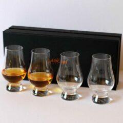 Transparante The Glencairn Glencairn whiskey glas set van 4 - Whisky cadeau - Luxe geschenkdoos
