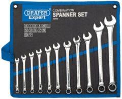 Draper Tools Metrische combinatiesleutel set 11-dlg zilver 29545