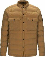 Bruine Peak Performance Axon Shirt Jacket Axon Shirt Jacket Heren Jack Maat M