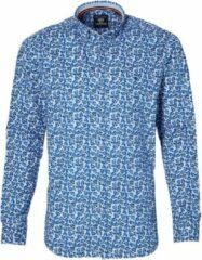 Lerros Overhemd - Modern Fit - Blauw - 4XL Grote Maten