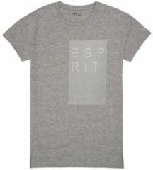 Grijze T-shirt Korte Mouw Esprit EVELYNE