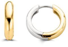 Ti Sento Milano Ti Sento-Milano 7210SY Oorringen zilver goudkleurig 14,4 x 3,2 mm