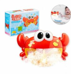 Relaxdays badspeelgoed krab - waterspeelgoed - Bubble Crab - bellenblaas - bellenblazer