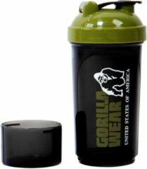 Groene Gorilla Wear Compacte Shaker - Black/Army Green