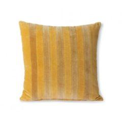 Gouden HK Living HKliving sierkussen velvet (45x45 cm)