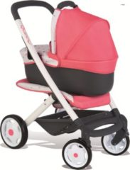 Roze Smoby Quinny 3 in 1 Poppenwagen