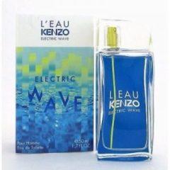 Kenzo LEau par Kenzo Electric Wave Pour Homme 50 ml Eau de Toilette edt Profumo Uomo