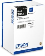 Zwarte Epson T8661XL - Inktcartridge / Zwart
