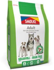 Smolke Adult Grain Free Formula Kip&Groente&Lam - Hondenvoer - 3 kg - Hondenvoer