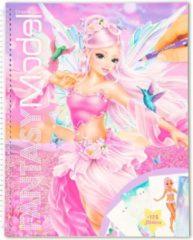Fantasy Model Kleurboek Fantasy Meisjes 29 Cm Papier Roze