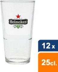 Heineken Bierglas Vaasje - 25 cl - 6 Stuks